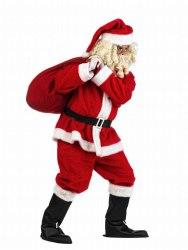 LIMIT SPORT Herren Kostüm Weihnachtsmann Deluxe